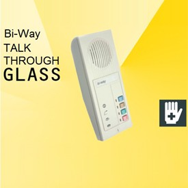 Bi-way samtale gjennom glass